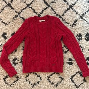 GILLY HICKS Cable Knit Sweater